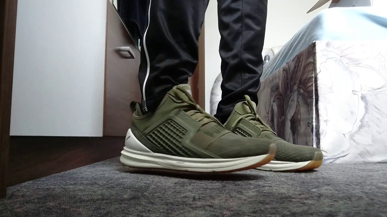 puma ignite limitless khaki