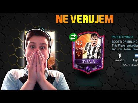 DOBIO SAM DYBALU U TEAM HEROES PEKU!!! Fifa Mobile 18