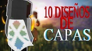 10 diseños de capas optifine!!!