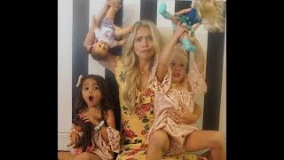 AMERICAN GIRL DOLL EXPERIENCE! Everleigh Soutas & Ava Foley  have Tea Time with Chantelle Paige thumbnail