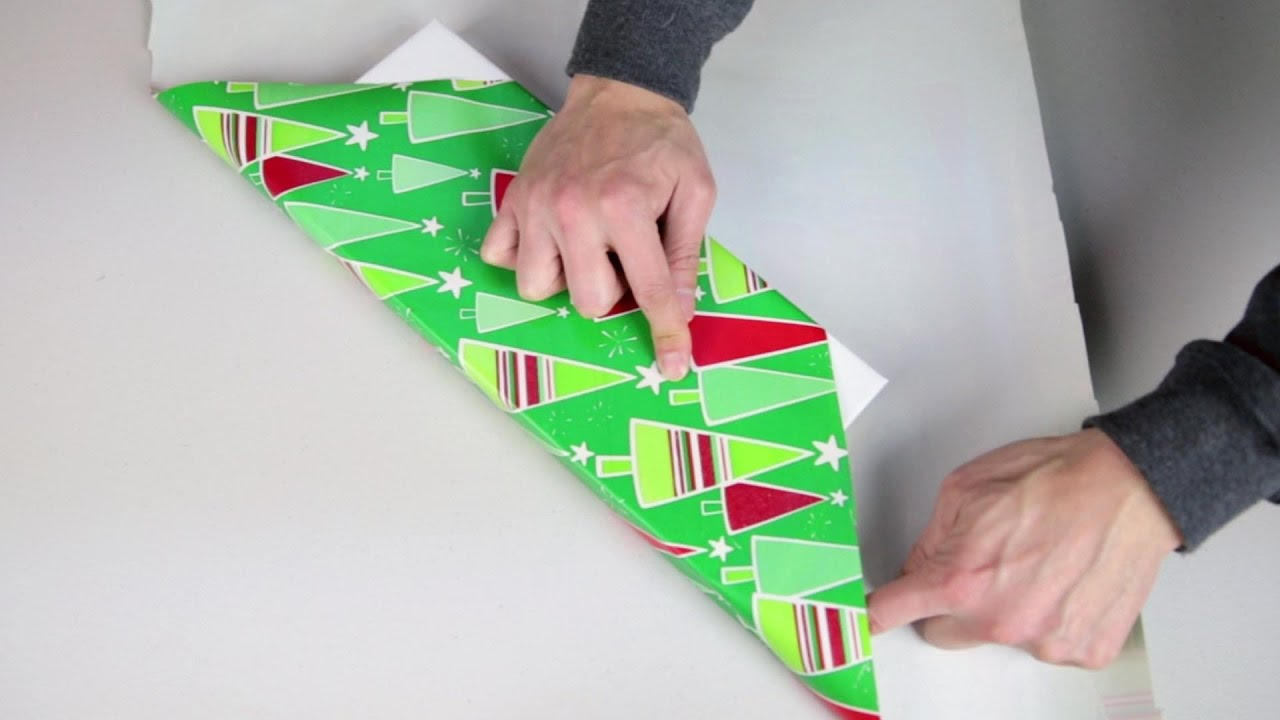 Japan Gift Wrap Hack For Long Presents No Tape Ribbon