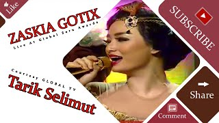 ZASKIA GOTIX [Tarik Selimut] Live At Global Seru Awards 2015 (15-04-2015) Courtesy GLOBAL TV