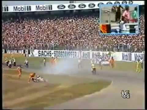 1989 German GP-Ivan Palazzesse fatal