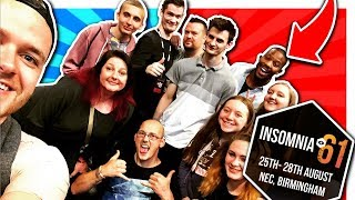INSOMNIA 61 VLOG!! (With the MURDER MYSTERY CREW!!) - Let