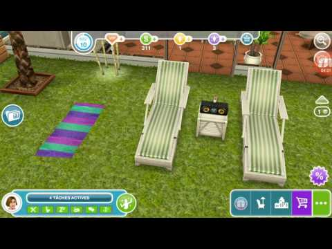 Les sims free play quand vous avez terminé la quête agence immobilière .....