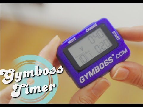 InstructionsHow To Use Your Gymboss Interval Timer