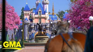 Disneyland reopens after more than a year l GMA