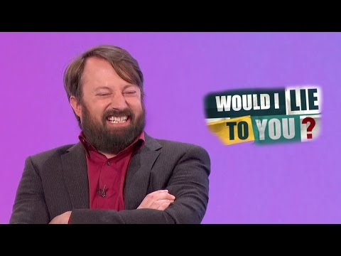 Barbigerous Harbinger of Exuberance  David Mitchell on Would I Lie to You? HD