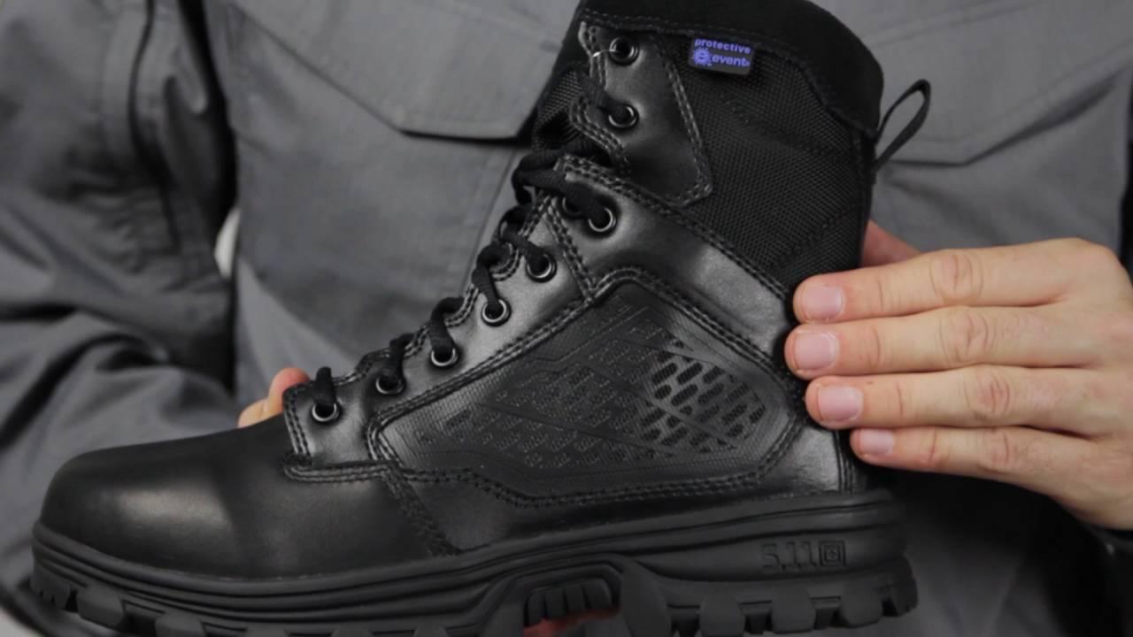 c2919b46b7c 12313 EVO 6 inch Water Proof Side Zip Boot