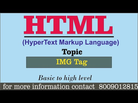 Basic HTML Practical || IMG TAG || Full Tutorial For Beginners In Hindi