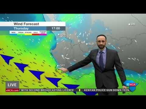 eNCA Weather Evening - 16 May 2018