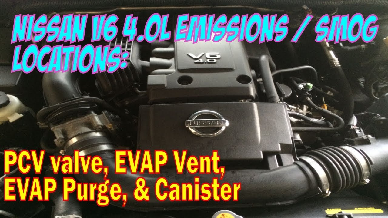 small resolution of nissan 4 0l v6 vq40de emissions locations pcv evap syst