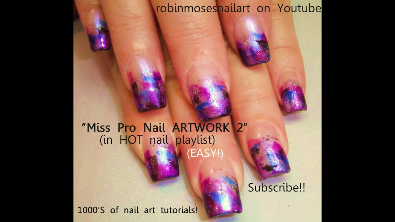 Easy nail art for beginners youtube prinsesfo Images
