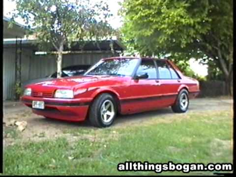 XF Falcon - Bogan spec Ford - YouTube