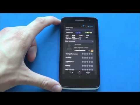 Alcatel One Touch Scribe HD - Benchmarks (Dual-SIM // 8008D)