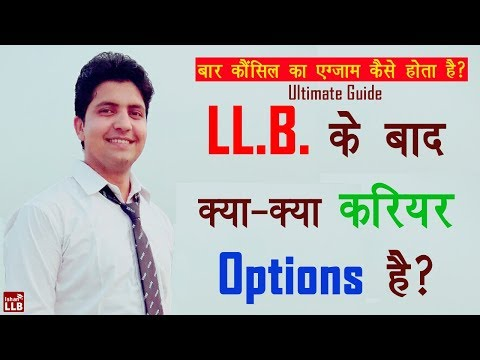 Top 7 Opportunities After Law Degree | By Ishan [Hindi]
