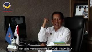 Drs. Fadholi, Anggota DPR RI Fraksi Partai NasDem Siap Mengemban Amanah Rakyat. Restorasi Indonesia!