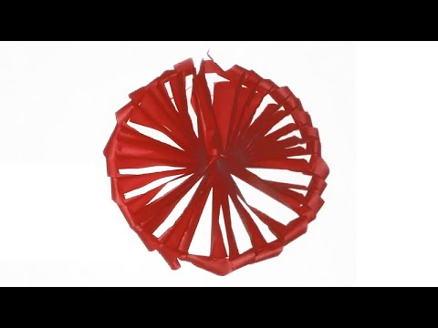 How to make a paper Wheel || Paper Wheel || Paper Cutting Art || Paper Wheel Easy
