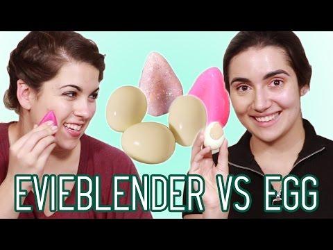 Silicone Beauty Blender vs Hard Boiled Egg • Saf & Candace