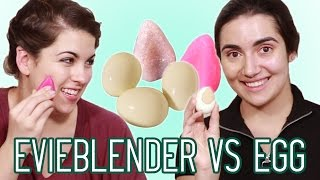 Silicone Beauty Blender vs Egg • Saf & Candace