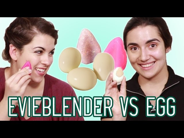 Silicone Beauty Blender vs Egg • Saf & Candace