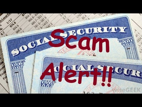 Social Security Scam (A First For Me)