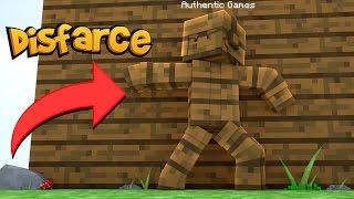 Minecraft: DISFARCE DE MADEIRA - (Esconde-Esconde)
