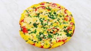 видео Быстрая пицца на сковороде