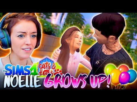 NOELLE GROWS UP! 👧🏻 (And so does Jamie?!?) (The Sims 4 CATS & DOGS #13🏖)