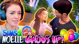 connectYoutube - NOELLE GROWS UP! 👧🏻 (And so does Jamie?!?) (The Sims 4 CATS & DOGS #13🏖)