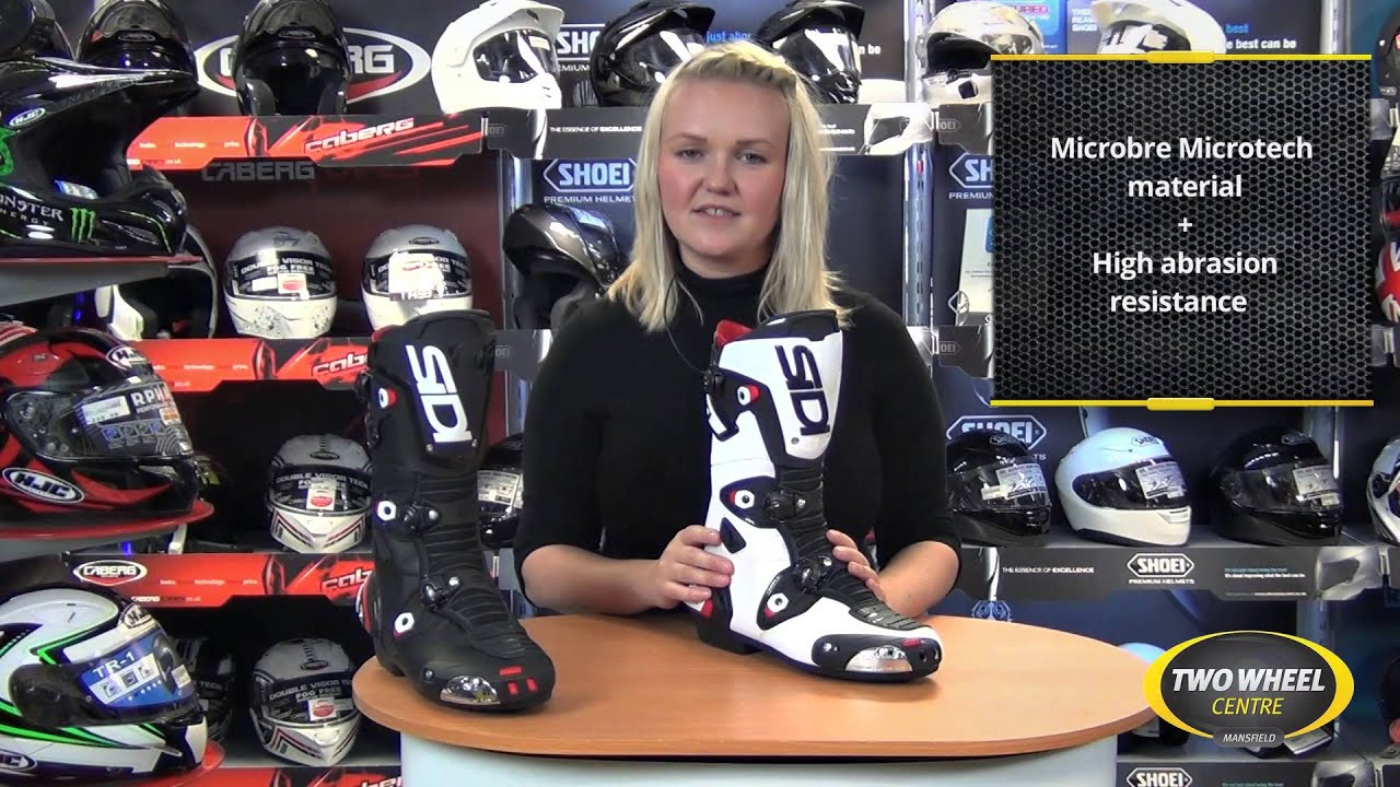 sidi mag 1 boots review by two wheel centre youtube. Black Bedroom Furniture Sets. Home Design Ideas