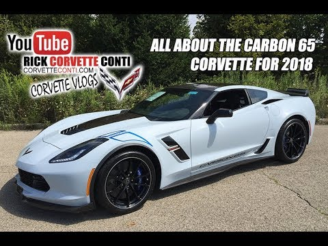 All About The 2018 Carbon 65 Corvette With Rick Conti