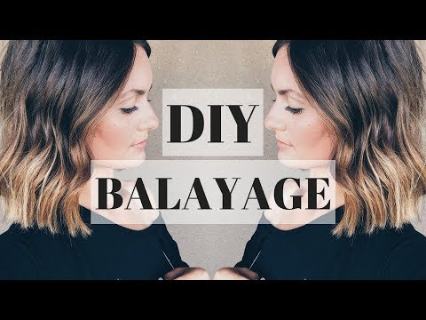 DIY BALAYAGE (TEASING METHOD) || 2018