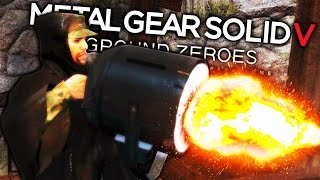 DEATH-RAY  PTSD | Metal Gear Solid V: Ground Zeroes Funny Moments (MGS: V Gameplay Montage)