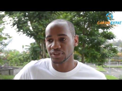 Portait d'Yvann antillais au Gabon