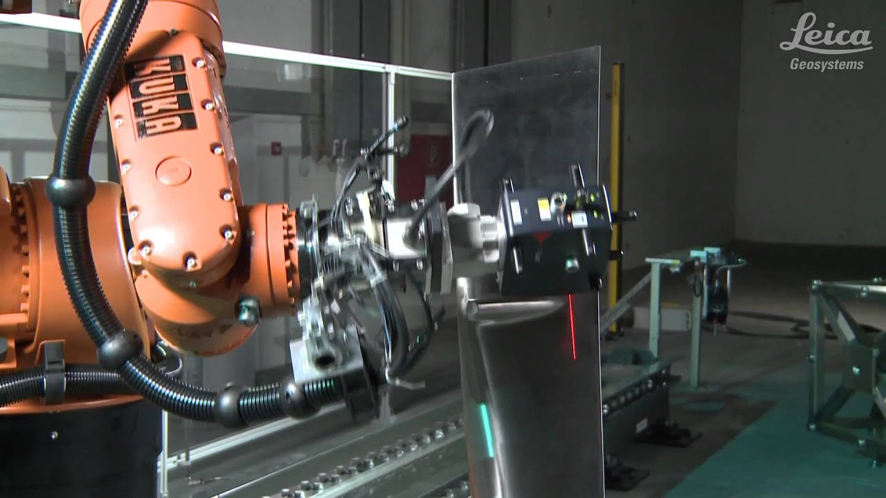 Leica T Scan For Absolute Robotic Inspection Youtube