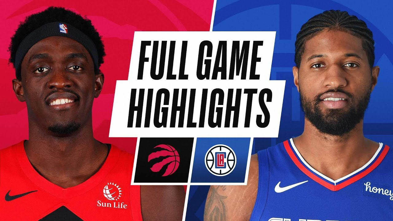 RAPTORS at CLIPPERS | FULL GAME HIGHLIGHTS | May 4, 2021