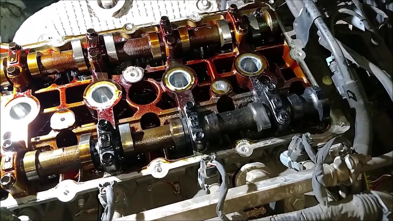 2010 2011 2012 2013 2014 2015 2016 Hyundai Santa Fe Engine Head Damage Youtube