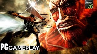 Attack on Titan PC Gameplay (1080p/60fps).