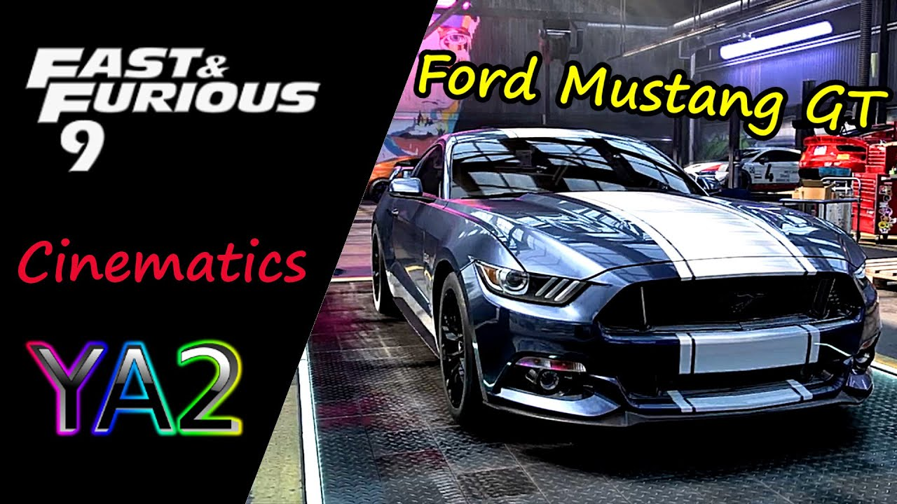 Fast And Furious 9 Ford Mustang In Nfs Heat Cinematic Edit Apokalypto Youtube