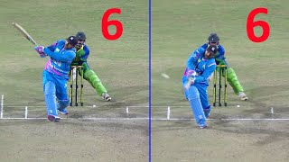 Apoorva Lakhia's Mad Hitting Of 2 Sixes In A Row