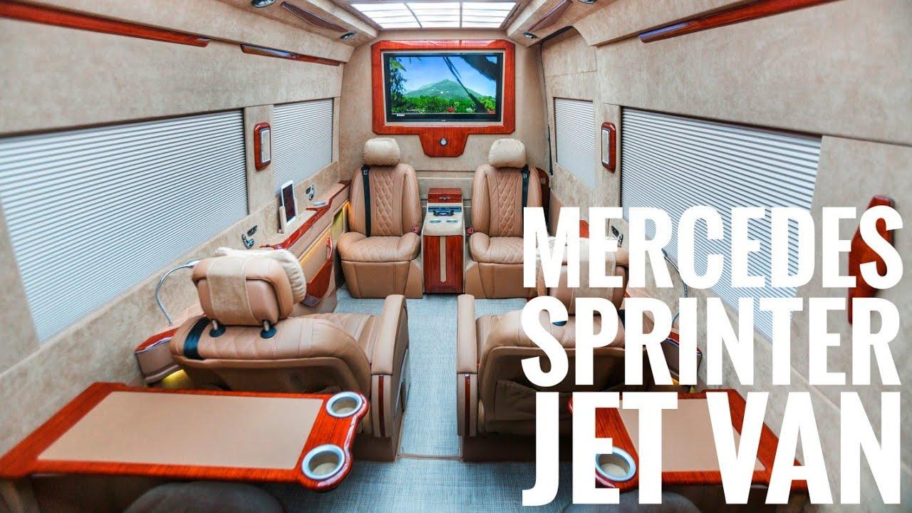 Ertex Private Jet Van Luxury Sprinter Business Lounge Ertex Luxury