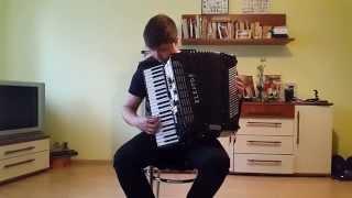 Akcent - Przez Twe Oczy Zielone - akordeon