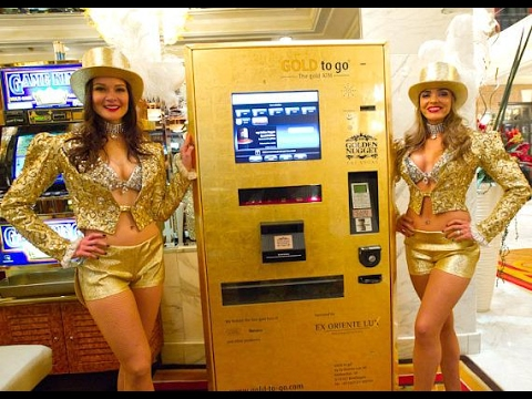 Gold Atm Machine Launched In Dubai