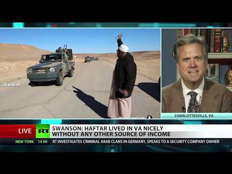 Former Gaddafi ally turned enemy battles to regain Libya