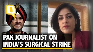 The Quint: Pakistani Journalist Responds to India's Surgical Strikes