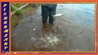 Хапуги ломятся от рыбы Рыбалка на хапугу хлопок летом с берега