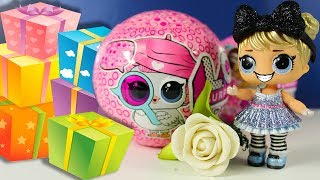 Ляльки ЛОЛ Декодер ДЕНЬ НАРОДЖЕННЯ Аліси ЛОЛ Сюрпризи Розпакування Іграшки для дітей LOL Surprise