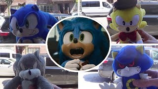 Sonic Movie But With Different Versions Of Sonic | Select Your Favorite Plush Design (Uh Meow)