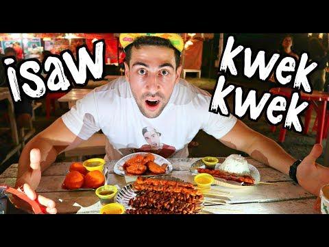 GIANT KWEK KWEK, ISAW! Filipino StreetFood How GOOD is it?!!
